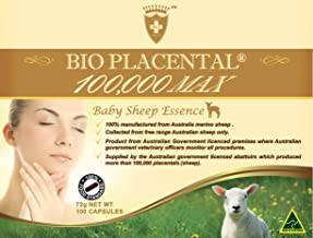 Wealthy Health Bio Placental 100000 Max 100 tablets
