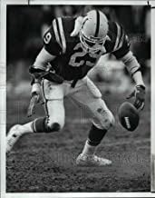 Historic Images - 1987 Press Photo Eric Dickerson Follows The Ball Popped Loose by Felix Wright.