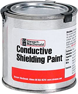 StewMac Conductive Shielding Paint, 1/2 pint (236.6ml)