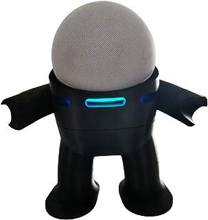 Suporte Base De Mesa Splin para Echo Dot 4 Geração Amazon modelo Robô Space Suit (preto)