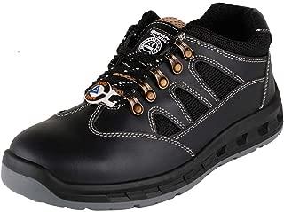 ACME Blitz Leather Safety Shoes Black (Size - BLITZ-40)
