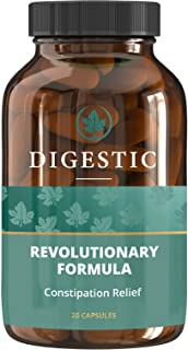 Digestic™ - Constipation IBS Relief - 100% Natural Ingredients - (20 Capsules) New Breakthrough Formula - IBS Supplement f...