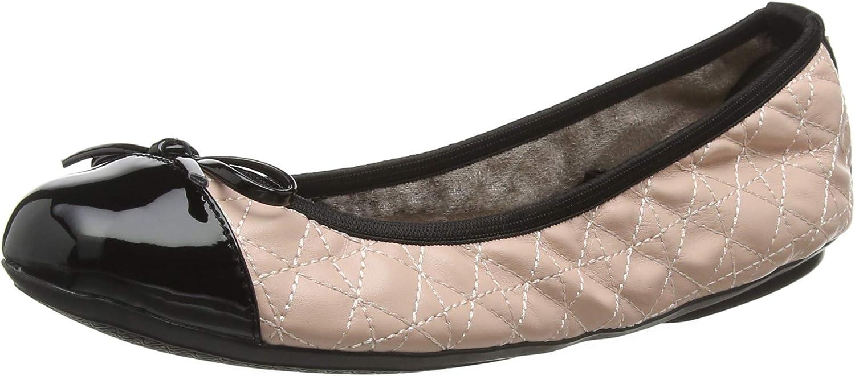 Butterfly Twists Womens Olivia bluesh Pink Black Ballet Pumps shoes Size