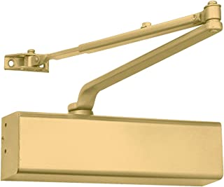Heavy Duty Grade 1 Cast Aluminum Commercial Door Closer (1, Painted Gold)