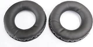 Oído reemplazo Pad almohadillas cojín de piel Reparación Piezas para Superlux HD668B HD669HD 668B 669hd668Pro HD681B hd-681b hd662cojín de auriculares de diadema con orejeras (negro)
