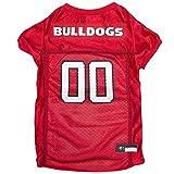 NCAA GEORGIA BULLDOGS DOG Jersey, Large