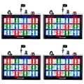 ?Eyourlife 18 LED 60w Strobe RGB Flash Light Stage Party Lighting Sound Activated for Club Disco Party Bar DJ?