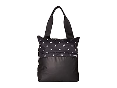 Nike Radiate Tote Bag (Black/Black/White) Tote Handbags