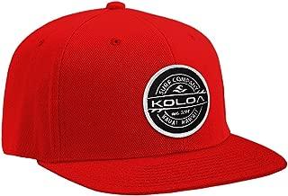 Joe's USA Koloa Surf Thruster Patch Logo Solid Snapback Hats