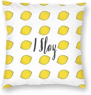 Funda de cojín Cuadrada Decorativa para sofá, I Love You 18