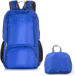 MIKE Mochila plegable – Mochila de viaje duradera, pequeña, ligera, práctica al aire libre, compras, camping, senderismo, mochila deportiva