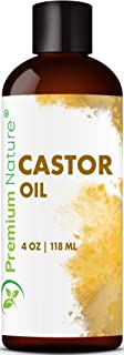 Castor Oil Pure Carrier Oil – Cold Pressed Castrol Oil for Essential Oils Mixing..