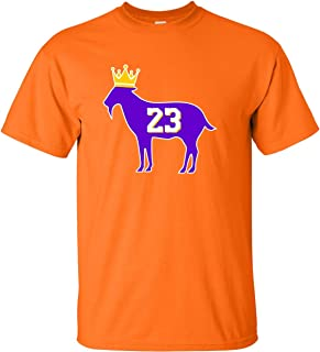 Adult Goat James G.O.A.T. King T-Shirt