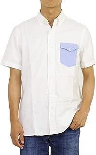 (ポロ ラルフローレン) POLO Ralph Lauren メンズ ワンポイントポニー刺繍 オックスフォード ボタンダウン 半袖シャツ 切り替え胸ポケット0104382 [並行輸入品]