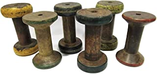 Best antique wooden yarn spindles Reviews
