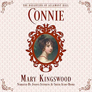 Connie audiobook cover art
