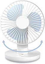 SMARTDEVIL Portable Desk Fan, Lower Noise, USB Rechargeable Battery Operated Fan with Multiple Speeds, 3000Mah Battery for...
