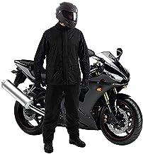 V MOBITE Heavy Duty Waterproof Windproof Raincoat Jacket and Pant Set for Men (Random Colour) Blue,Black