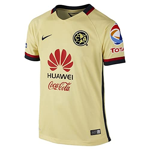 Nike Boys Club America Home Stadium Jersey [Lemon Chiffon]