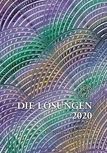 Die Losungen 2020 Deutschland / Die Losungen 2020: Geschenk-Grossdruckausgabe