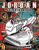 Air Jordan Coloring Book: Great Gifts For Sneakers Collectors