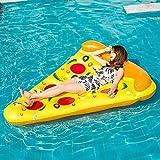 SHENXIAOMING Pizza Hamac Floattant Piscine, Paquet De 1 Flotadores Piscina...