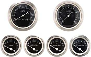 analog fuel gauge