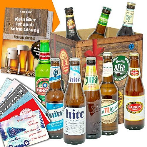 Bierset/mit Bierbuch/Männer Geschenke/Geschenkset Geburtstag für Ihn