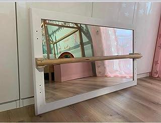 Specchio Montessori Bianco