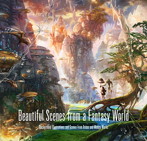 Beautiful Scenes from a Fantasy World (PIE Background Illustration Series)