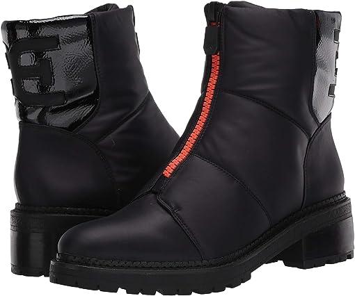 Black WP Classic Nylon/Heavy Crinkle Patent Leather