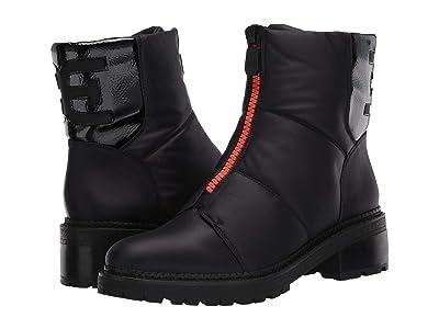 Sam Edelman Jalissa (Black WP Classic Nylon/Heavy Crinkle Patent Leather) Women