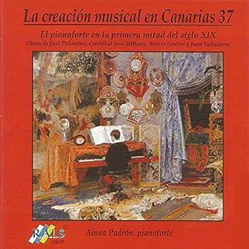 La Creación Musical en Canarias 37 - El Pianoforte en la Primera Mitad del Siglo XIX
