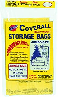 Warp Brothers CB-60 Banana Bags 4-Count Storage Bags, 60-Inch by 108-Inch