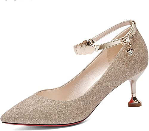 Sandales GYHDDP Femmes Chaussures Printemps Wild Chaussures Talons Aiguilles 2 2 Couleur Taille optionnelle en Option (Couleur   B, Taille   40)  60% de réduction