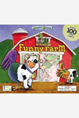Magnetic Mixables: Funny Farm Spiral-bound