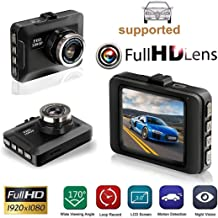 "UpBeauty 2.2"" HD 1080P Car Driving Recorder"