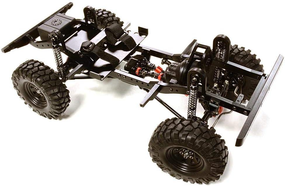 Integy RC Model Hop-ups C27376BLACK High quality new Billet 10 Max 47% OFF Machined D90 1 Gen