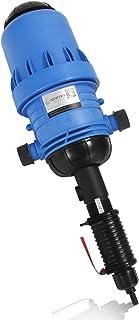 NEWTRY 0.4%~4% Adjustable Fertilizer Injector Water Powered Chemical Liquid Doser Dispenser 4.4~660.43 gallons/h Drip Irri...