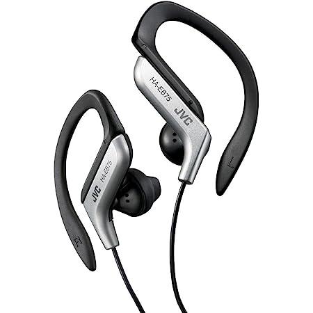 JVC HA-EB75-S イヤホン 耳掛け式 防滴仕様 スポーツ用 シルバー