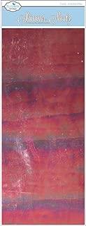 Elizabeth Craft Designs EC0100-219 Mylar Shimmer Sheetz, 5 by 12-Inch, Ruby Gemstone