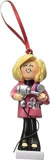 Ornament Central OC-014-FBL Female Blonde Hairdresser Figurine