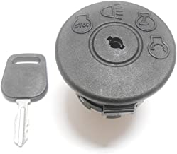 Ignition Switch With Key, Replaces AYP 175566, 163968, MTD 925-1741, Murray 94762, John Deere GY20074