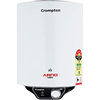 Crompton Arno Neo ASWH-3015 15-litres 5 Star-Rated Storage Water Heater (White)