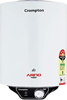 Crompton Arno Neo 15-L 5 Star Rated Storage Water Heater with Advanced 3 Level Safety (White)