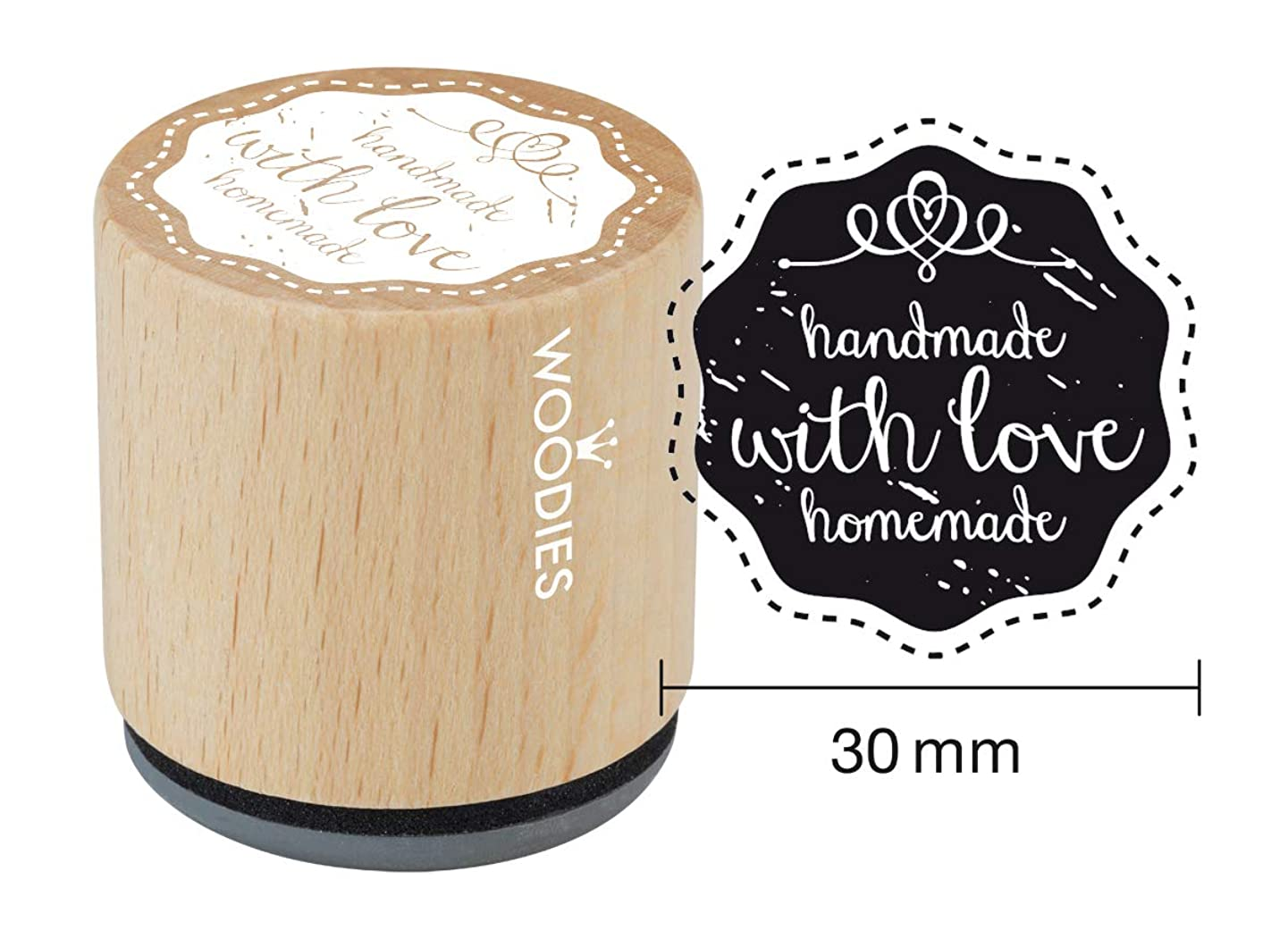 WOODIES Love Themed Stamp