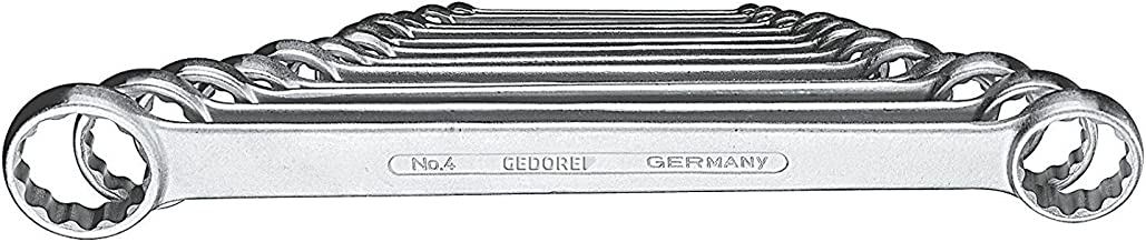 GEDORE 4-120 Flat Ring Spanner Set 12 pcs 6-32 mm