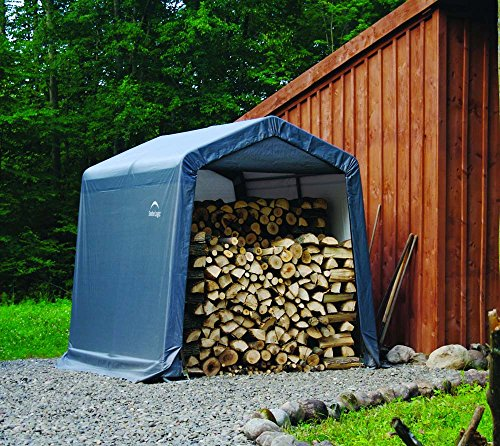 ShelterLogic 8' x 8' x 8' Shed-in-a-Box All Season...