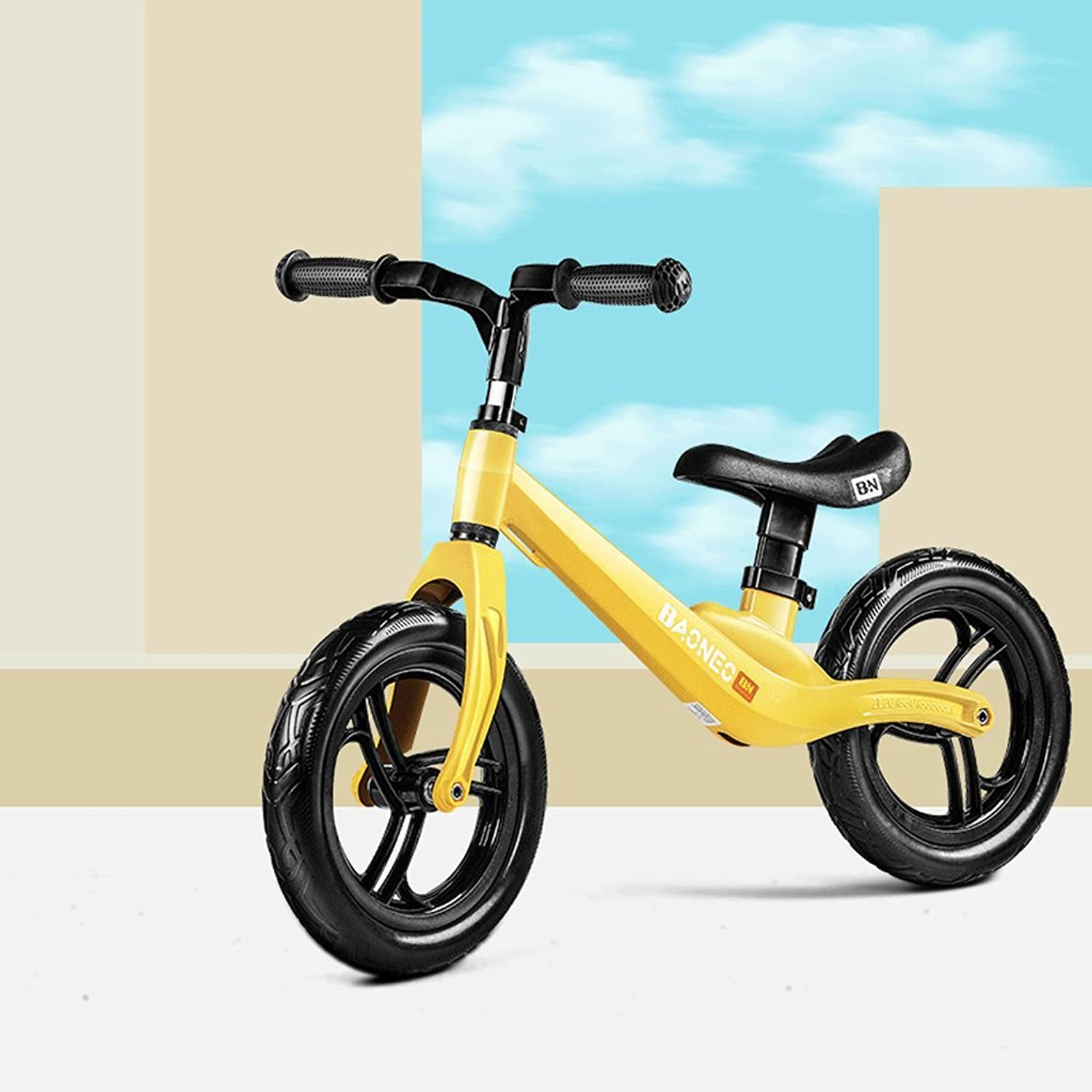 Xiao ping Balance Bike Lightweight Sports No Pedal Walking Bicycle - No need to inflate ( color   2 )