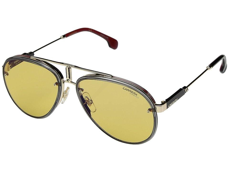 Carrera Carrera Glory (Gold/Yellow) Fashion Sunglasses